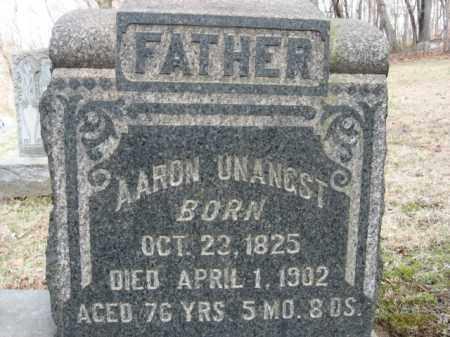 UNANGST, AARON - Northampton County, Pennsylvania | AARON UNANGST - Pennsylvania Gravestone Photos