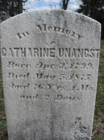 UNANGST, CATHARINE - Northampton County, Pennsylvania | CATHARINE UNANGST - Pennsylvania Gravestone Photos