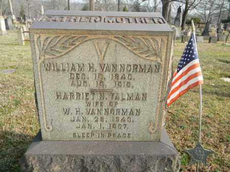 VAN NORMAN (CW), WILLIAM H. - Northampton County, Pennsylvania   WILLIAM H. VAN NORMAN (CW) - Pennsylvania Gravestone Photos