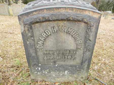 VANDERBOLT, EDWARD  H. - Northampton County, Pennsylvania | EDWARD  H. VANDERBOLT - Pennsylvania Gravestone Photos