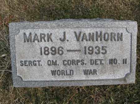 VANHORN  (WWI), MARK J. - Northampton County, Pennsylvania | MARK J. VANHORN  (WWI) - Pennsylvania Gravestone Photos
