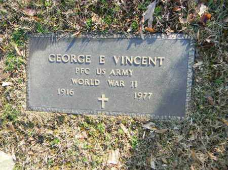 VINCENT (WW II), GEORGE E. - Northampton County, Pennsylvania | GEORGE E. VINCENT (WW II) - Pennsylvania Gravestone Photos