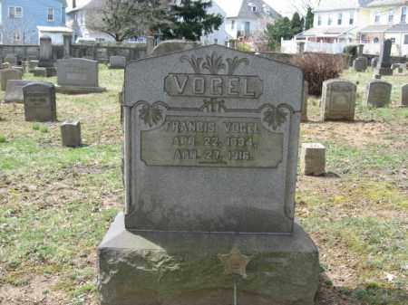 VOGEL, FRANCIS - Northampton County, Pennsylvania | FRANCIS VOGEL - Pennsylvania Gravestone Photos