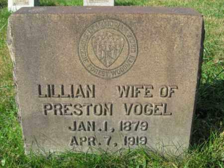 VOGEL, LILLIAN - Northampton County, Pennsylvania | LILLIAN VOGEL - Pennsylvania Gravestone Photos