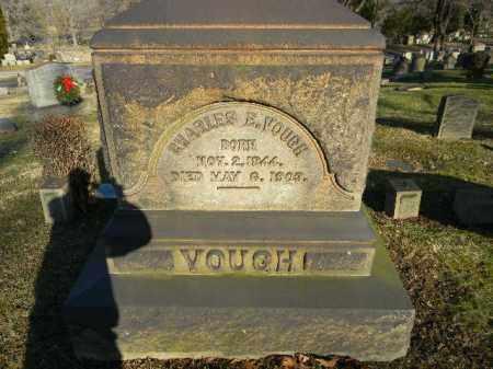VOUGH, CHARLES E. - Northampton County, Pennsylvania | CHARLES E. VOUGH - Pennsylvania Gravestone Photos