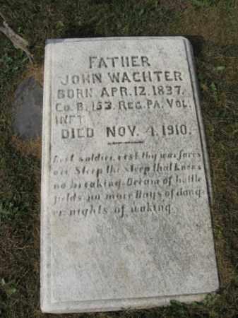 WACHTER, JOHN - Northampton County, Pennsylvania   JOHN WACHTER - Pennsylvania Gravestone Photos