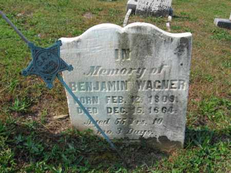 WAGNER, BENJAMIN - Northampton County, Pennsylvania | BENJAMIN WAGNER - Pennsylvania Gravestone Photos