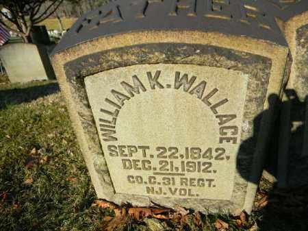 WALLACE (CW), WILLIAM K. - Northampton County, Pennsylvania | WILLIAM K. WALLACE (CW) - Pennsylvania Gravestone Photos