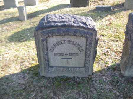 WALTER, BARNET - Northampton County, Pennsylvania | BARNET WALTER - Pennsylvania Gravestone Photos