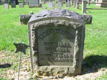 WARFORD, ERNEST - Northampton County, Pennsylvania | ERNEST WARFORD - Pennsylvania Gravestone Photos