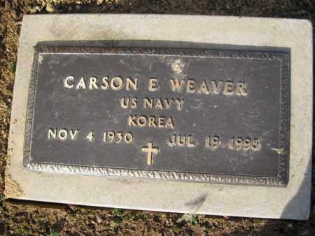 WEAVER   (KOREA), CARSON E. - Northampton County, Pennsylvania   CARSON E. WEAVER   (KOREA) - Pennsylvania Gravestone Photos