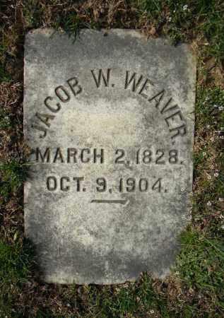 WEAVER (CW), JACOB W. - Northampton County, Pennsylvania | JACOB W. WEAVER (CW) - Pennsylvania Gravestone Photos