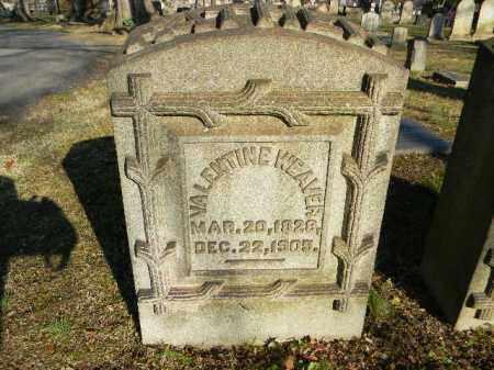 WEAVER (CW), VALENTINE - Northampton County, Pennsylvania | VALENTINE WEAVER (CW) - Pennsylvania Gravestone Photos