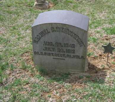 WEIDKNECHT, SAMUEL C. - Northampton County, Pennsylvania   SAMUEL C. WEIDKNECHT - Pennsylvania Gravestone Photos
