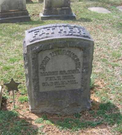 WEIDNECHT, JOHN - Northampton County, Pennsylvania | JOHN WEIDNECHT - Pennsylvania Gravestone Photos