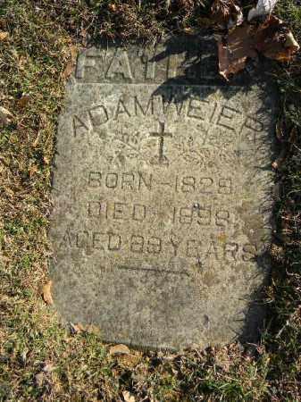 WEIER, ADAM - Northampton County, Pennsylvania | ADAM WEIER - Pennsylvania Gravestone Photos
