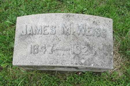 WEISS, JAMES M. - Northampton County, Pennsylvania | JAMES M. WEISS - Pennsylvania Gravestone Photos