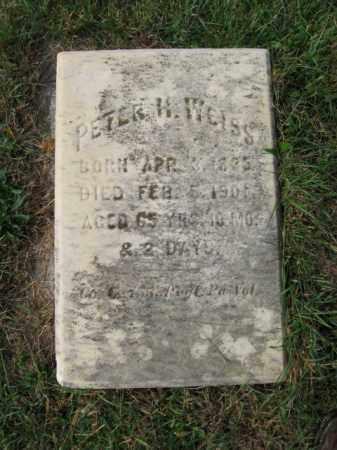 WEISS, PETER H. - Northampton County, Pennsylvania | PETER H. WEISS - Pennsylvania Gravestone Photos