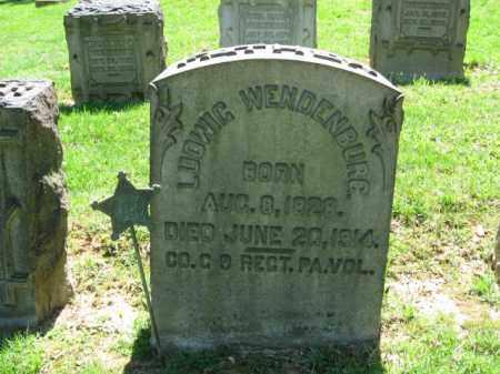 WENDENBURG, LUDWIG - Northampton County, Pennsylvania | LUDWIG WENDENBURG - Pennsylvania Gravestone Photos