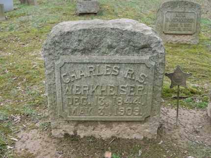 WERKHEISER (CW), CHARLES R.S. - Northampton County, Pennsylvania   CHARLES R.S. WERKHEISER (CW) - Pennsylvania Gravestone Photos