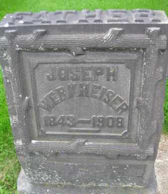 WERKHEISER, JOSEPH - Northampton County, Pennsylvania | JOSEPH WERKHEISER - Pennsylvania Gravestone Photos