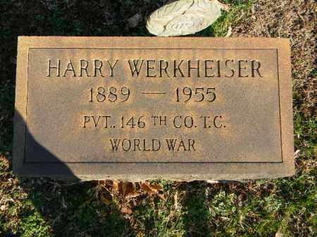 WERKHEISER (WW I), HARRY - Northampton County, Pennsylvania   HARRY WERKHEISER (WW I) - Pennsylvania Gravestone Photos
