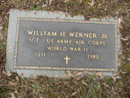 WERNER,JR. (WW II), WILLIAM H. - Northampton County, Pennsylvania | WILLIAM H. WERNER,JR. (WW II) - Pennsylvania Gravestone Photos