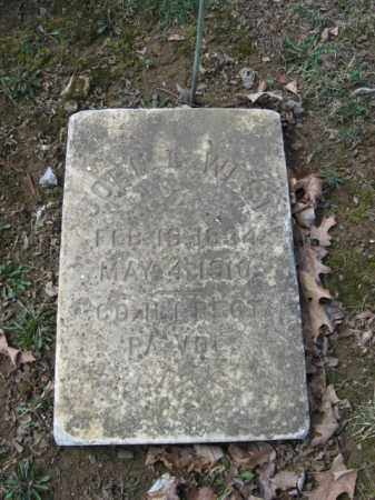 WEST, JOHN G. - Northampton County, Pennsylvania   JOHN G. WEST - Pennsylvania Gravestone Photos