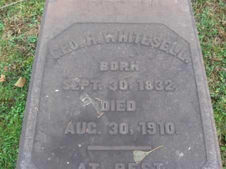 WHITESELL, GEORGE H. - Northampton County, Pennsylvania   GEORGE H. WHITESELL - Pennsylvania Gravestone Photos