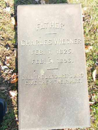WIEGNER, CHARLES - Northampton County, Pennsylvania | CHARLES WIEGNER - Pennsylvania Gravestone Photos