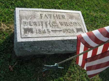 WILCOX (CW), DEWITT C. - Northampton County, Pennsylvania | DEWITT C. WILCOX (CW) - Pennsylvania Gravestone Photos