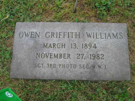 WILLIAMS, OWEN GRIFFITH - Northampton County, Pennsylvania | OWEN GRIFFITH WILLIAMS - Pennsylvania Gravestone Photos