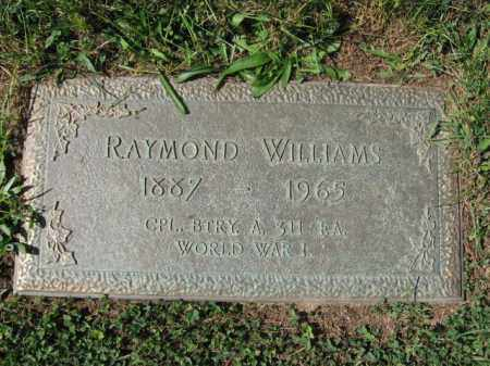 WILLIAMS, RAYMOND - Northampton County, Pennsylvania | RAYMOND WILLIAMS - Pennsylvania Gravestone Photos