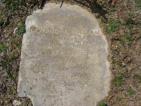 WILLIAMS, RICHARD J. - Northampton County, Pennsylvania | RICHARD J. WILLIAMS - Pennsylvania Gravestone Photos