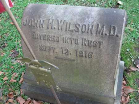 WILSON, MD (CW), JOHN H. - Northampton County, Pennsylvania | JOHN H. WILSON, MD (CW) - Pennsylvania Gravestone Photos