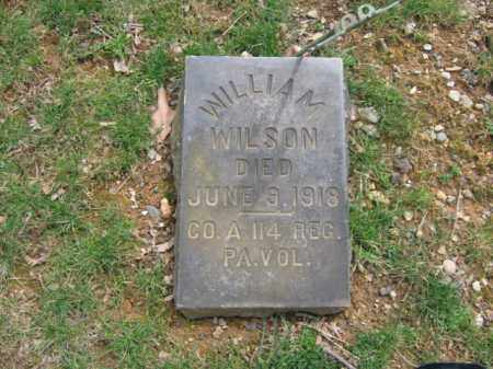 WILSON, WILLIAM - Northampton County, Pennsylvania | WILLIAM WILSON - Pennsylvania Gravestone Photos
