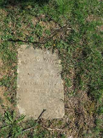 WOLF, GEORGE W. - Northampton County, Pennsylvania | GEORGE W. WOLF - Pennsylvania Gravestone Photos