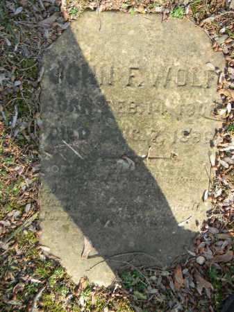 WOLF, JOHN F. - Northampton County, Pennsylvania   JOHN F. WOLF - Pennsylvania Gravestone Photos