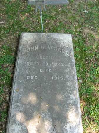 WOLLE (CW), JOHN D. - Northampton County, Pennsylvania   JOHN D. WOLLE (CW) - Pennsylvania Gravestone Photos