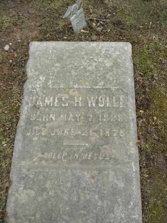WOLLE, JAMES H. - Northampton County, Pennsylvania | JAMES H. WOLLE - Pennsylvania Gravestone Photos