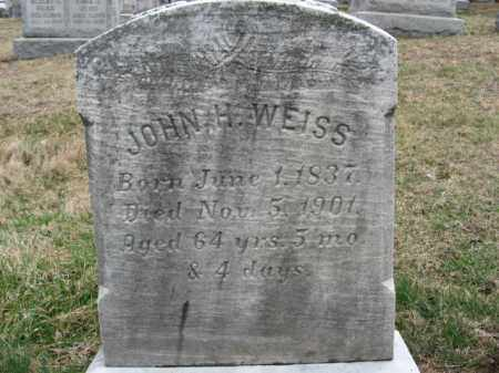 WQEISS, JOHN H/ - Northampton County, Pennsylvania   JOHN H/ WQEISS - Pennsylvania Gravestone Photos