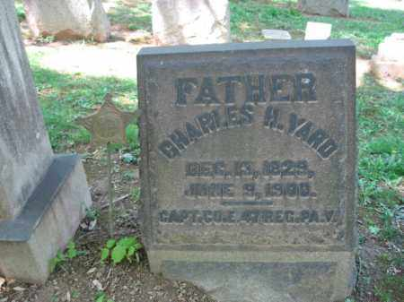 YARD, CAPT. CHARLES H. - Northampton County, Pennsylvania | CAPT. CHARLES H. YARD - Pennsylvania Gravestone Photos