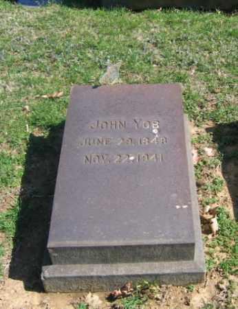 YOB, JOHN - Northampton County, Pennsylvania | JOHN YOB - Pennsylvania Gravestone Photos