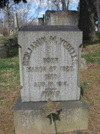 YOUELLS, BENJAMIN M. - Northampton County, Pennsylvania | BENJAMIN M. YOUELLS - Pennsylvania Gravestone Photos
