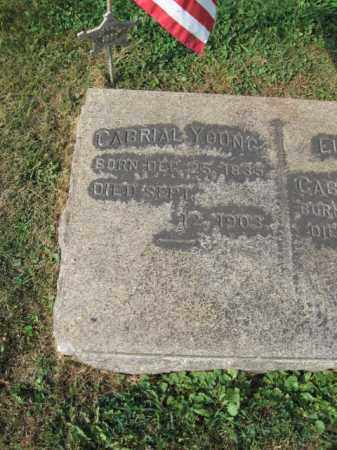 YOUNG (CW), GABRIAL (GABRIEL) - Northampton County, Pennsylvania | GABRIAL (GABRIEL) YOUNG (CW) - Pennsylvania Gravestone Photos