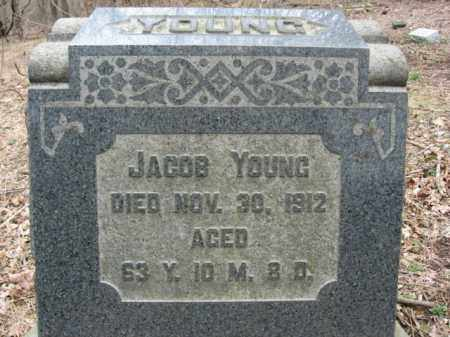 YOUNG, JACOB - Northampton County, Pennsylvania | JACOB YOUNG - Pennsylvania Gravestone Photos