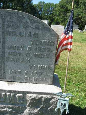 YOUNG, SARAH - Northampton County, Pennsylvania | SARAH YOUNG - Pennsylvania Gravestone Photos