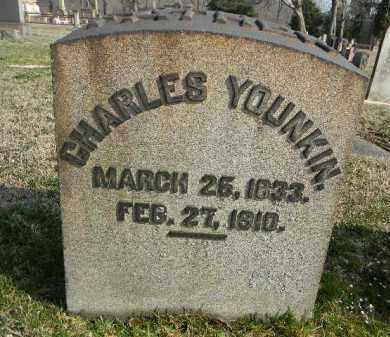 YOUNKIN, CHARLES - Northampton County, Pennsylvania | CHARLES YOUNKIN - Pennsylvania Gravestone Photos
