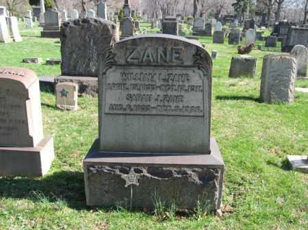 ZANE (CW), WILLIAM L. - Northampton County, Pennsylvania   WILLIAM L. ZANE (CW) - Pennsylvania Gravestone Photos