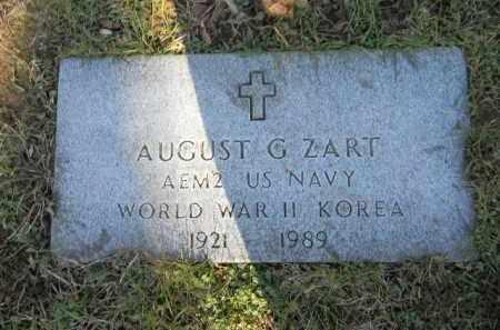ZART (WW II -KOREA), AUGUST G. - Northampton County, Pennsylvania | AUGUST G. ZART (WW II -KOREA) - Pennsylvania Gravestone Photos